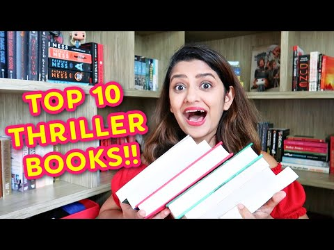Top 10 Thriller Book Recommendations To Read | Mystery Books For Beginners