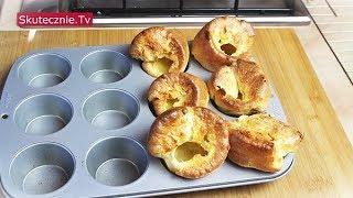 Popovers w formie na muffiny - klasyczne i pełnoziarniste :: Skutecznie.Tv