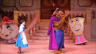 beauty and the beast live on stage disneys hollywood studios walt disney world resort