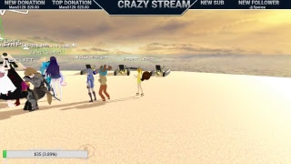 Crazy in VRchat with friends