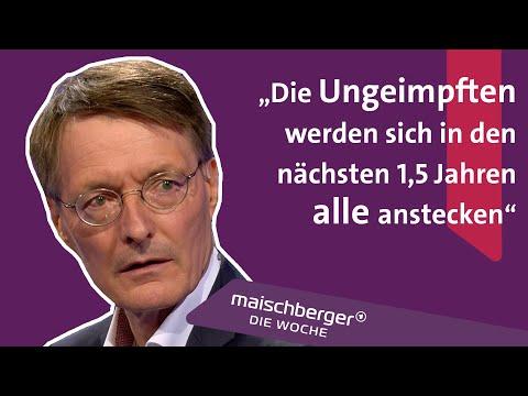 Kein neuer Lockdown mehr nötig? Epidemiologe Karl Lauterbach im Interview   maischberger. die woche