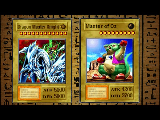 Yugioh Forbidden Memories 2 - The Strongest Fusions (The Best Fusions)