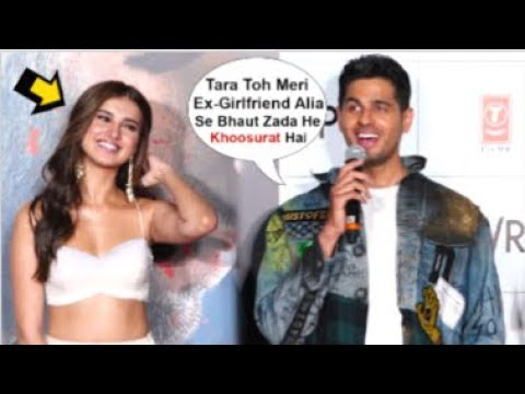 Tara Sutaria BLUSHES After Sidharth Malhotra Openly FLIRTS With Her At Marjaavaan Trailer Launch Mp3