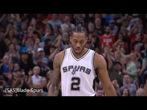 Spurs : 2016-17 All-Defensive Kawhi leonard & Danny green