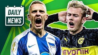 Julian Brandt rettet den BVB? Der DFB-Pokal dreht durch! Luka Jovic macht sein erstes Tor!