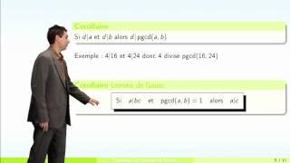 Arithmétique - partie 2 : théorème de Bézout