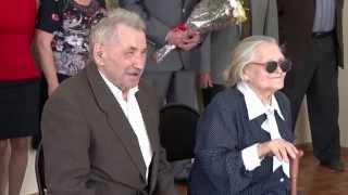 Изумрудная свадьба семья Карпушенко 55 лет вместе
