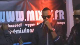 Leftside Ft Syon Ghetto Gyal Wine Live on Mixey TV with DJ Kage.mp3