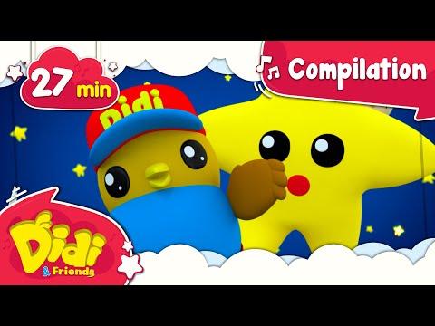 Twinkle Twinkle Little Star | +More Best Nursery Rhymes & Kids Songs | Didi & Friends English