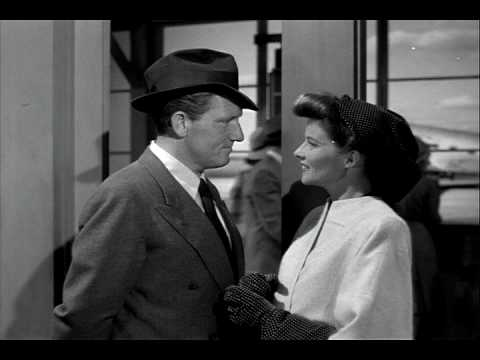 Woman of the Year - Spencer Tracy & Katherine Hepburn's Kiss