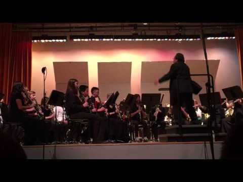 Ventura County Student Honor Band Performance 2-28-2016