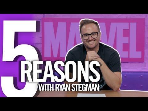 5 Reasons with Ryan Stegman | Marvel Comics