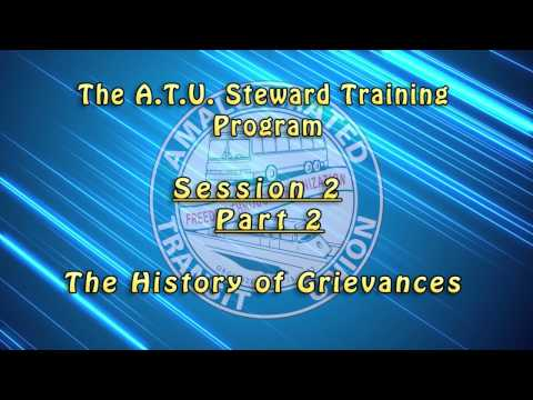 Introductory Shop Stewards Videos - Session 2 / Part 2