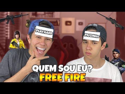 QUEM SOU EU FREE FIRE! (armas, youtubers e personagens)