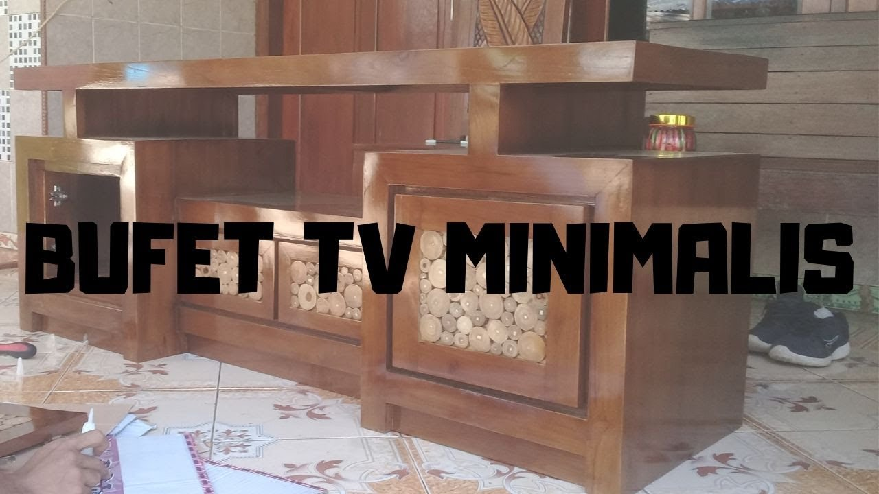 Sangkujati Mebeljepara Furniture Bufet Tv Minimalis
