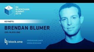 Interesting chat with Brendan Blumer - CEO, Founder - Block.one @ DC Blockchain Summit 2019