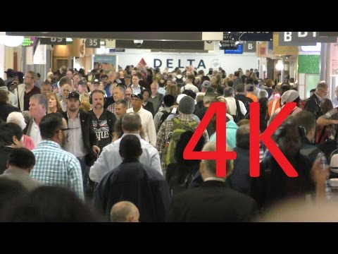 A 4K Video Tour of Atlanta International Airport (ATL)