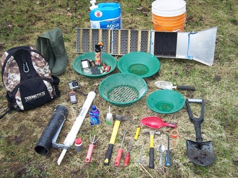 Gold Prospecting Equipment, What Tools Do I Pack. S3/E1.