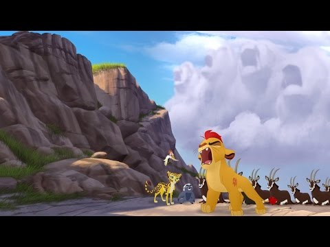 Kion's Roar of the Elders - Beshte and the Hippo Lanes | Lion Guard HD Clip