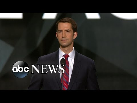 Sen. Tom Cotton: 'Help Is on the Way'