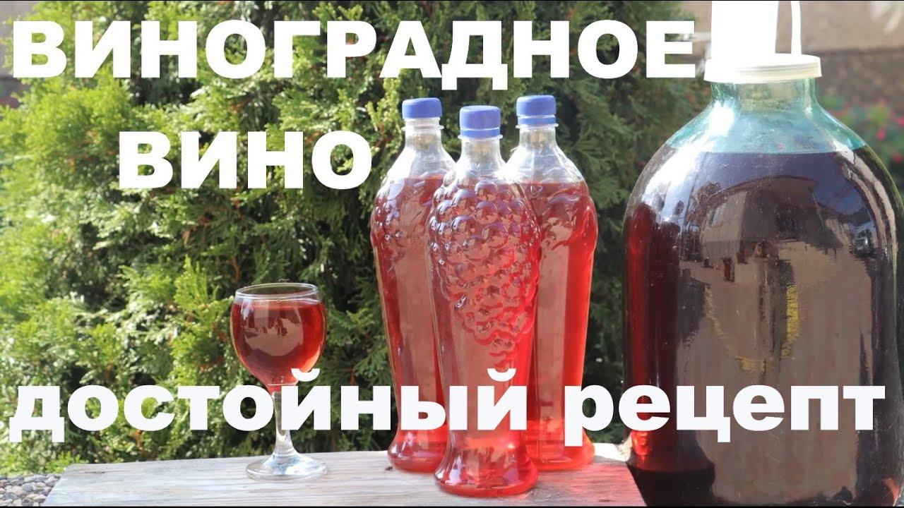 Рецепт Домашнего Вина из Винограда. Сорт Молдова. ENG SUB.