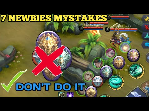 YOU DON'T KNOW Ur DOING IT WRONG WAY | 7 THINGS MISTAKES | DONT DO IT | MOBILE LEGENDS