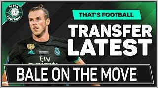 Gareth BALE To MAN UTD or TOTTENHAM! LATEST TRANSFER NEWS
