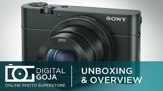Sony Cyber Shot DSC RX100 IV 20.1 Megapixel Digital Camera Black | Unboxing & Overview