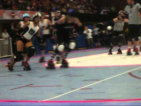 Roller Derby: Charlotte Roller Girls Vs. Cape Fear Roller Girls. Pt 2/2