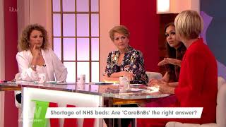 Jane Supports the Idea of Convalescing Rooms | Loose Women