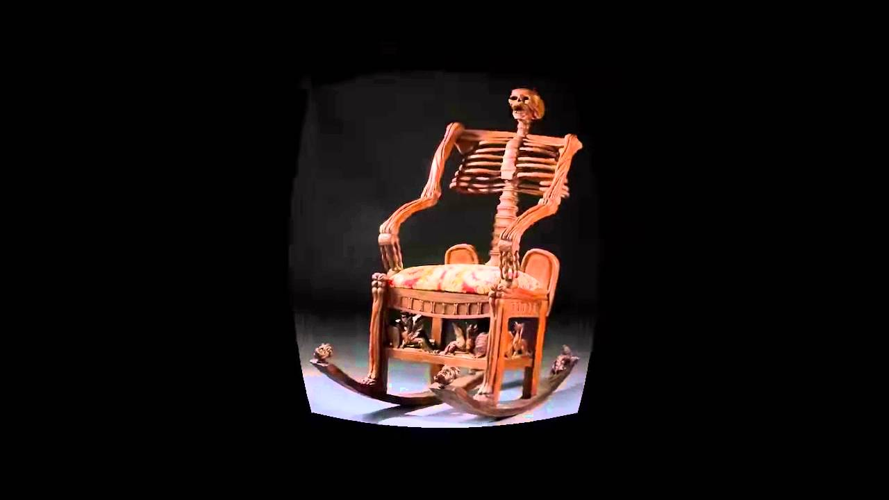 Skeleton Chair Wake Me Up Folding Salon Best Quality Youtube