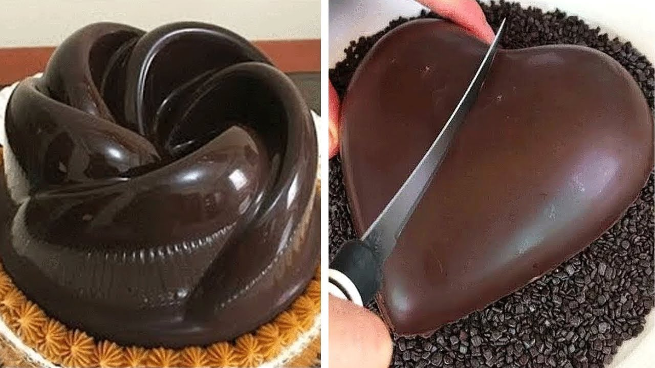 Perfect Chocolate HEART Cake Decorating Ideas | 10 Delicious Chocolate Cake Recipes | Mr Cakes