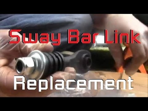 Sway Bar Disconnect >> Right Rear Sway Bar Link Replacement - 1997 Ford Contour Mercury Mystique 2.0L - YouTube