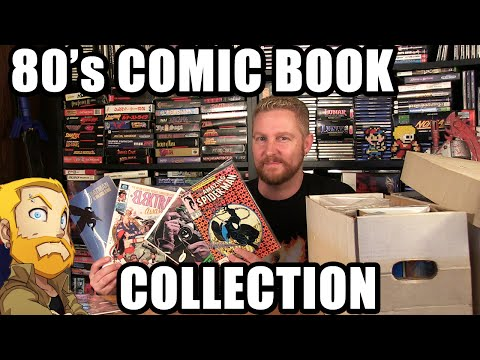 80's COMIC BOOK COLLECTION! - Happy Console Gamer