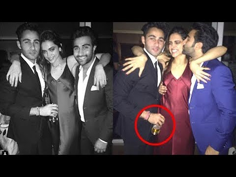 Deepika Padukone DRUNK At Padmavati Wrap Up Party | INSIDE PICS - YouTube
