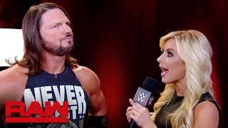 AJ Styles claims that Raw is no longer Seth Rollins' show: Raw, May 13, 2019