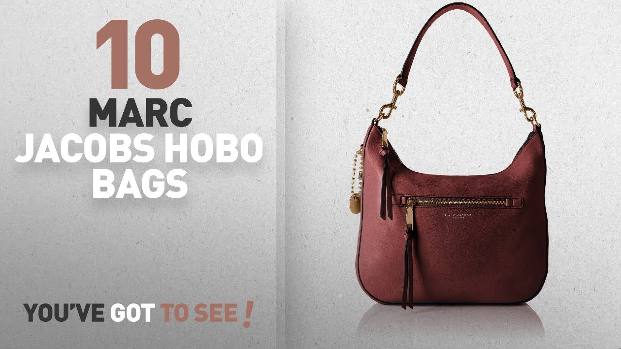 Top 10 Marc Jacobs Hobo Bags For Women  Marc Jacobs Recruit Hobo ... 28fc07a2f275c