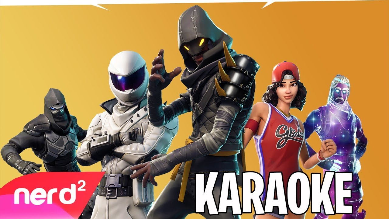 the fortnite rap battle round 2 karaoke nerdout ft timthetatman sypherpk valkyrae more - fortnite nerd out 2