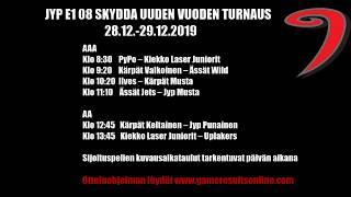 JYP 08 uuden vuoden SKYDDA-turnaus (SUNNUNTAI) 28.12.29.12.2019