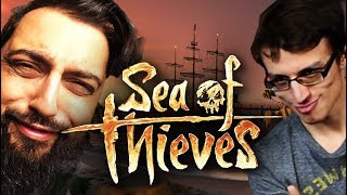 WE STOLE THEIR BOAT! - Sea of Thieves w/ Chris Ray Gun and BuntyKing