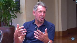 Larry Ellison on partnerships with UH, San Diego Zoo