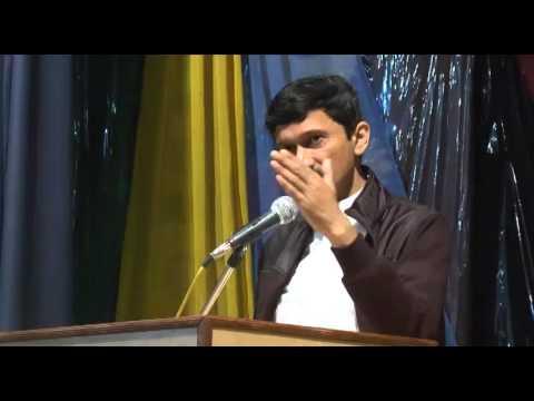 Vivek Atray IAS at St. Johns High School Chandigarh