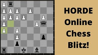 Chess Blitz Online game: Playing somebody under my strength!