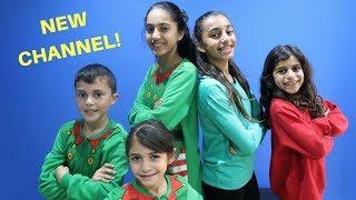 HZHtube Kids Fun NEW CHANNEL! Family Fun Vlog
