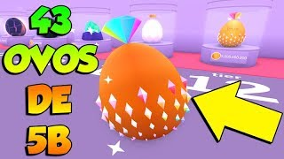 OPEN 43 EGGS IN SEARCH OF RARE PETS IN PET SIMULATOR-ROBLOX