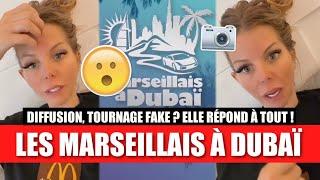 JESSICA DONNE DES INFOS SUR LES MARSEILLAIS À DUBAÏ !! 😮 (DIFFUSION, TOURNAGE FAKE ??, CONTRAT...)