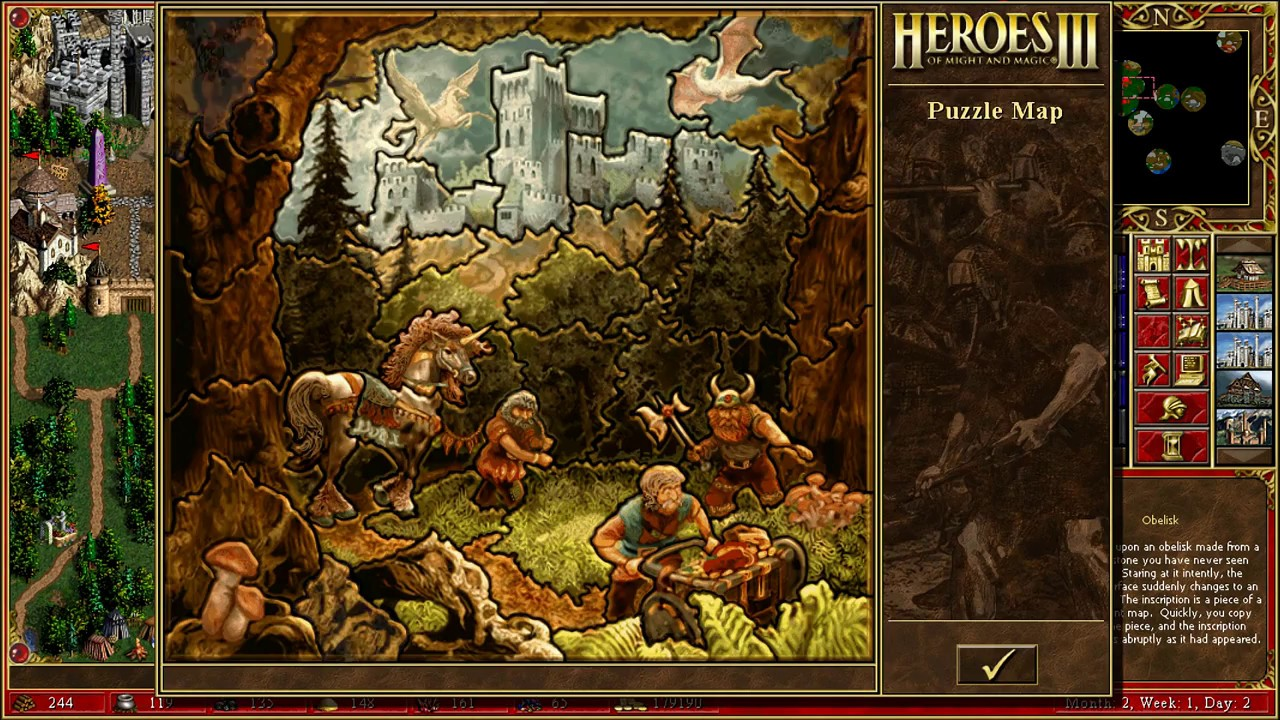 Heroes Of Might And Magic 3 Middle Earth Adventures Part 2 Youtube