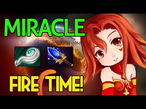 Miracle- Dota 2 : Lina Vol.2 - [Middle] Fire Time !