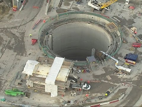Inside London's Massive Sewer Tunnel Project