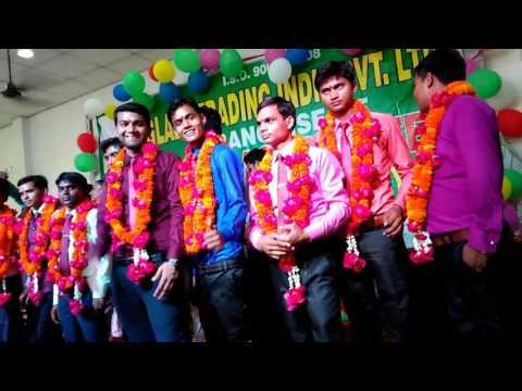 Glaze trading india pvt.ltd promotion seremoney in bareilly zone